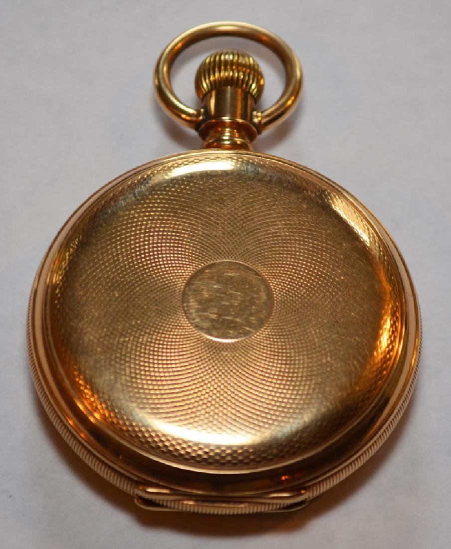E. Howard Boston 14k Gold Hunter Case Pocket Watch