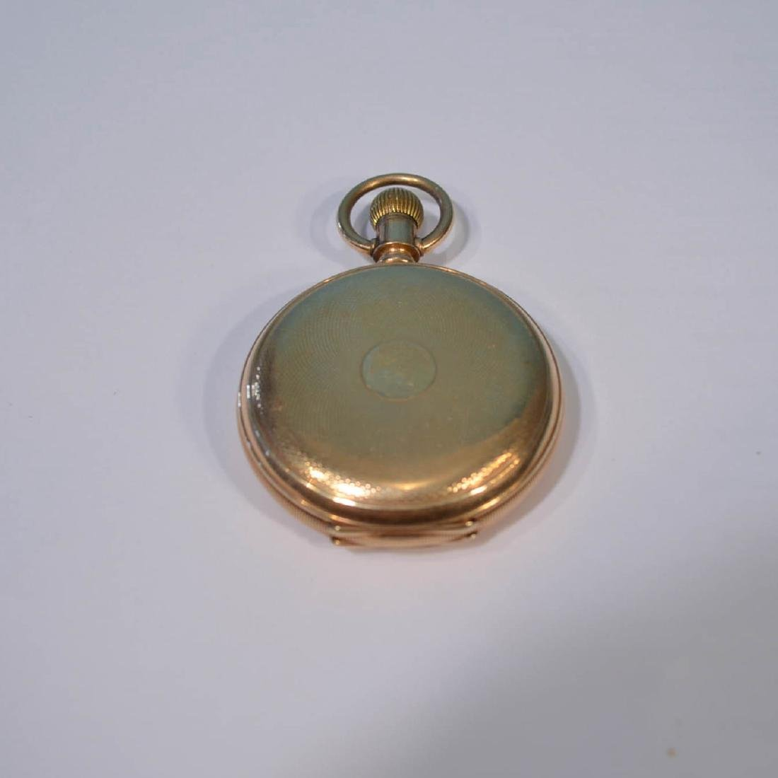 E. Howard Boston 14k Gold Hunter Case Pocket Watch - 2