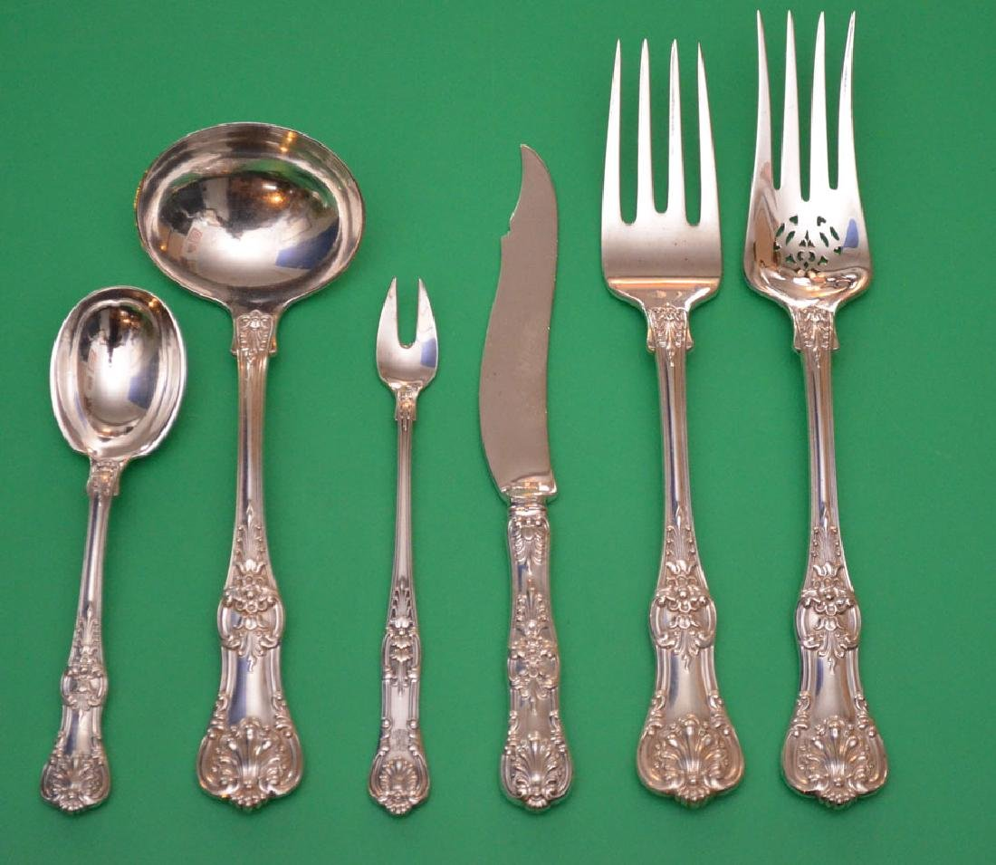 7 Tiffany & Co English King Sterling Silver Serving