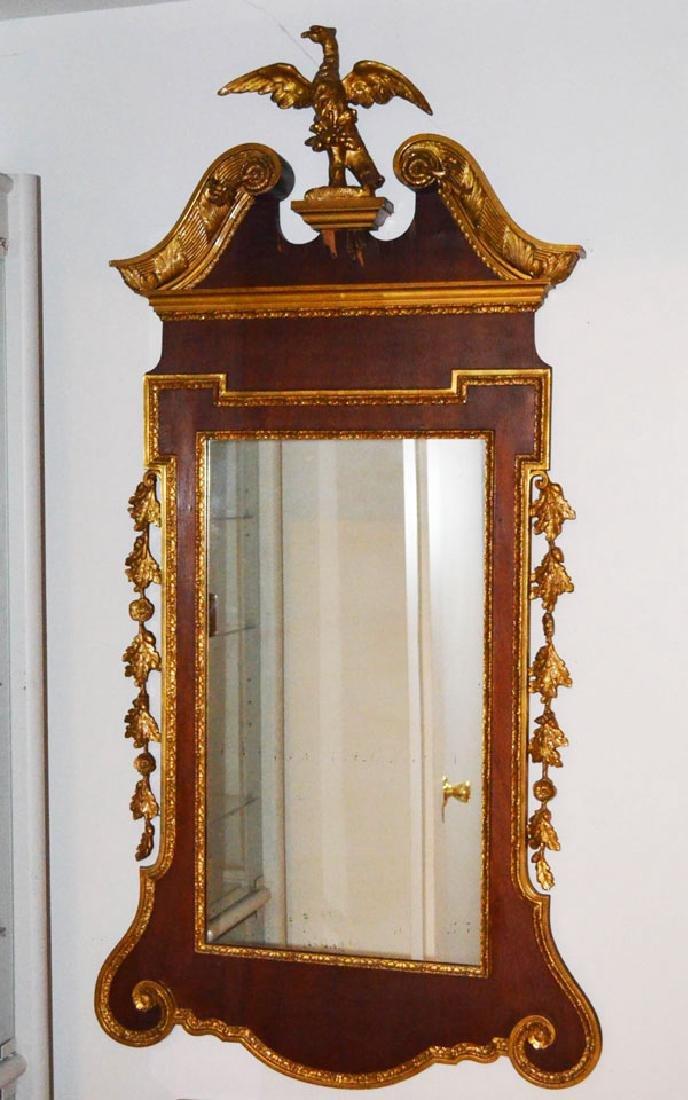 Stunning Antique Federal Mirror w Eagle