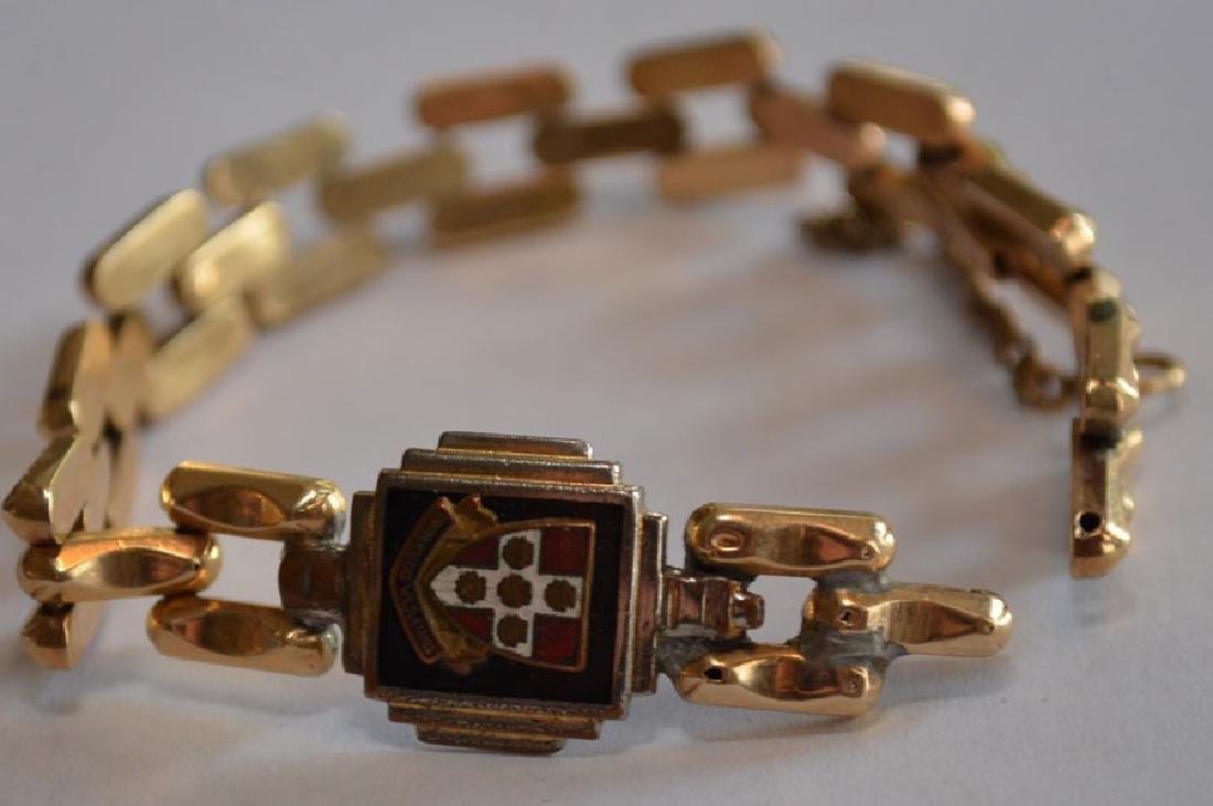 Antique 14k Gold Bracelet