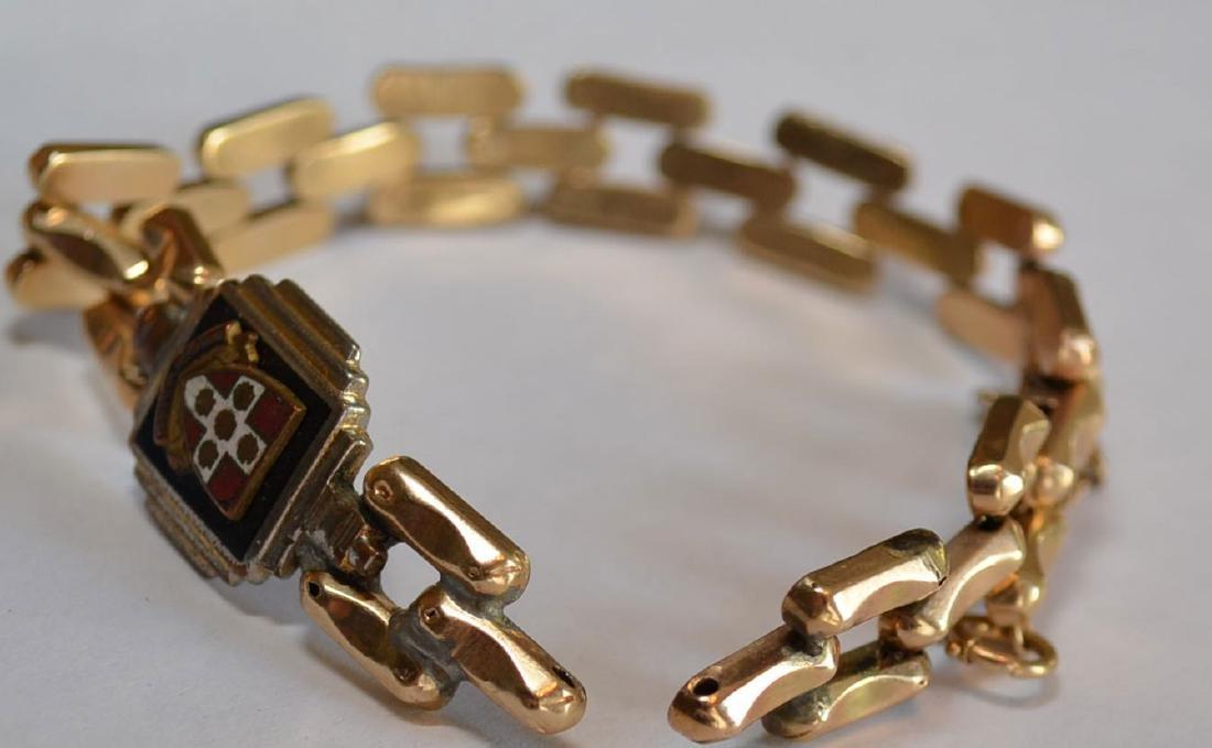 Antique 14k Gold Bracelet - 2