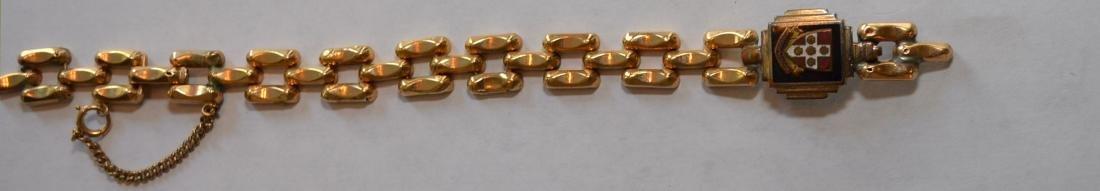 Antique 14k Gold Bracelet - 3