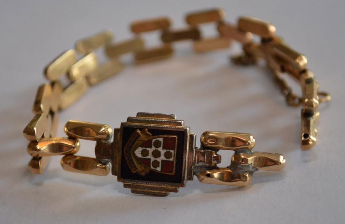 Antique 14k Gold Bracelet - 4