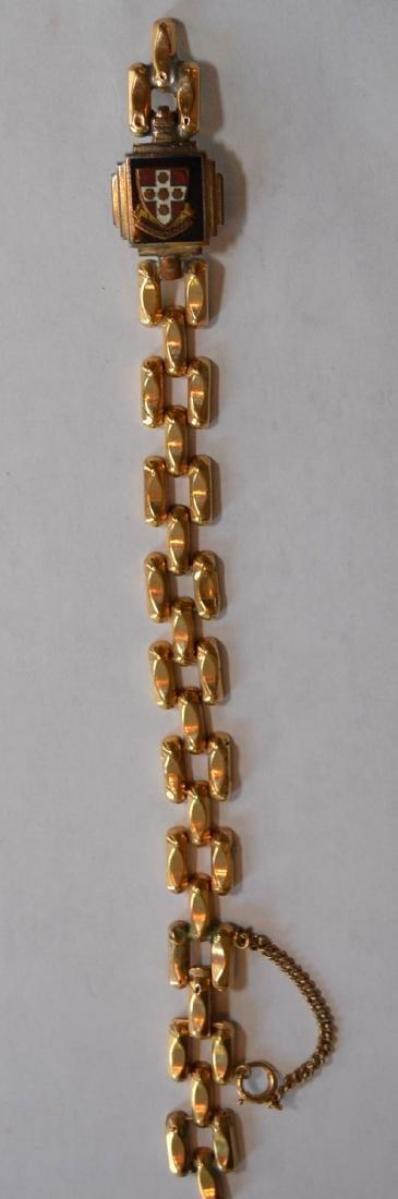 Antique 14k Gold Bracelet - 5