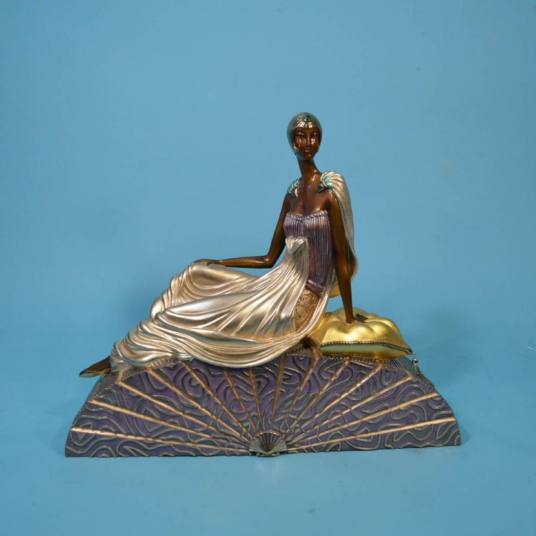 Erte King's Favorite Bronze Statue