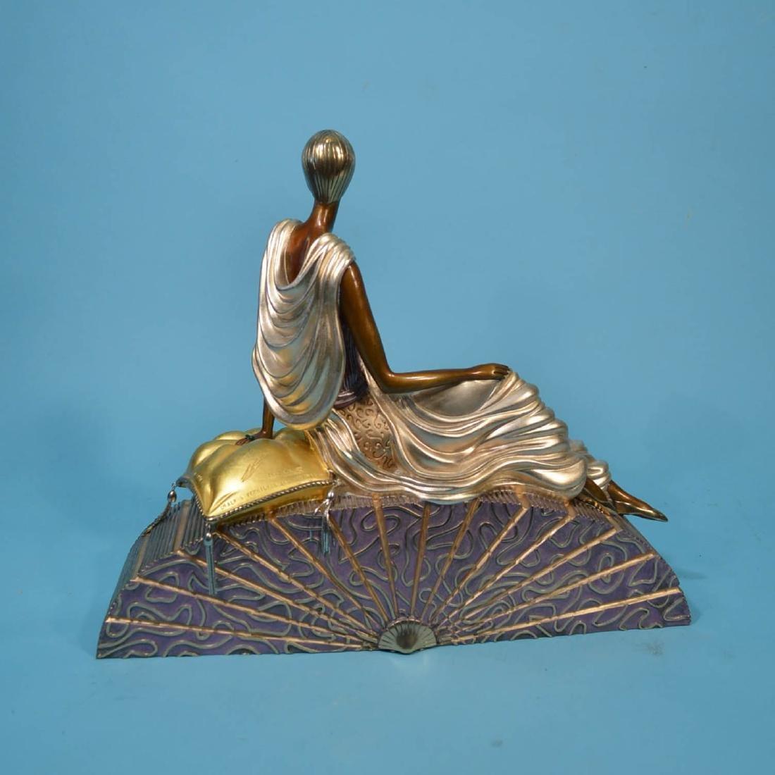 Erte King's Favorite Bronze Statue - 2