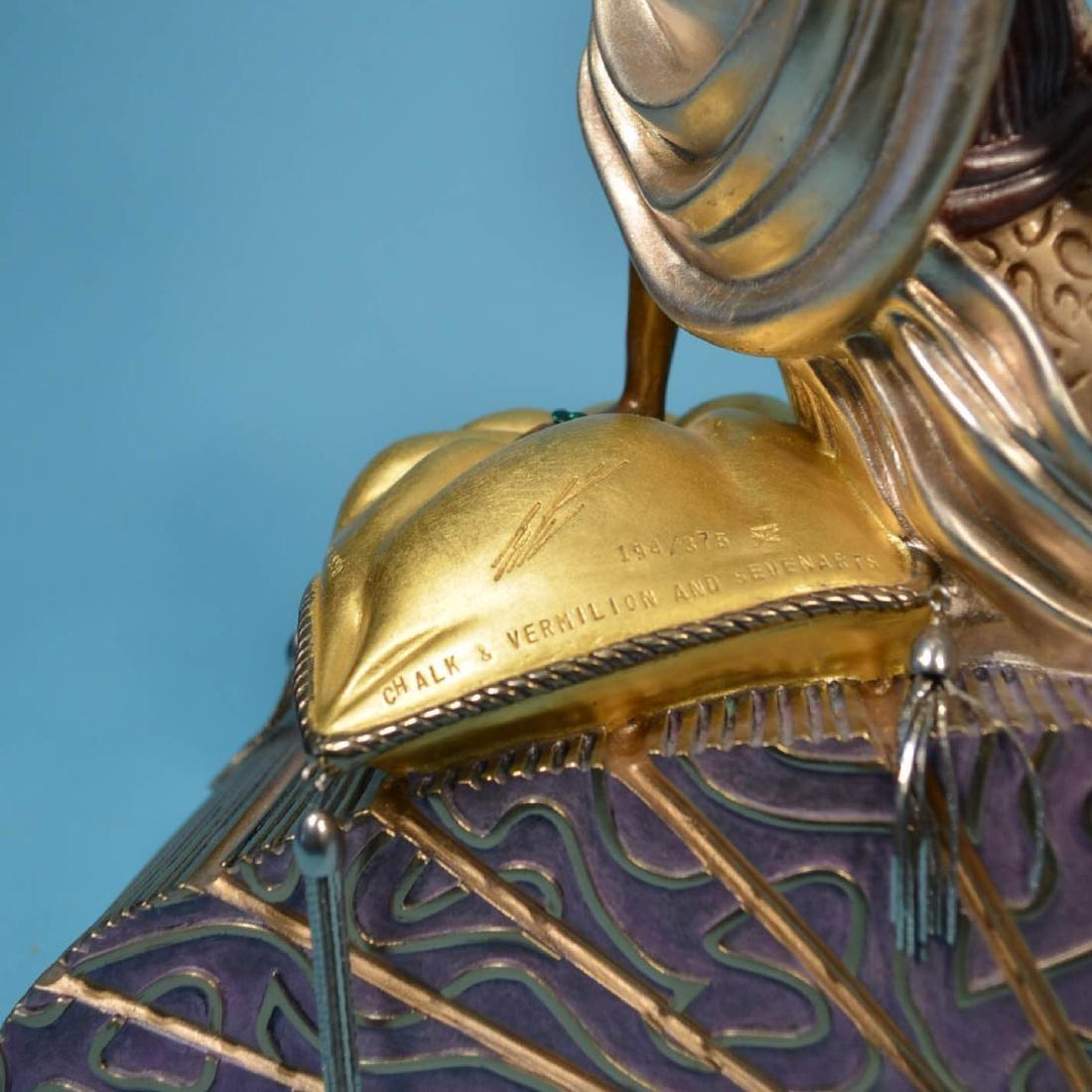 Erte King's Favorite Bronze Statue - 3