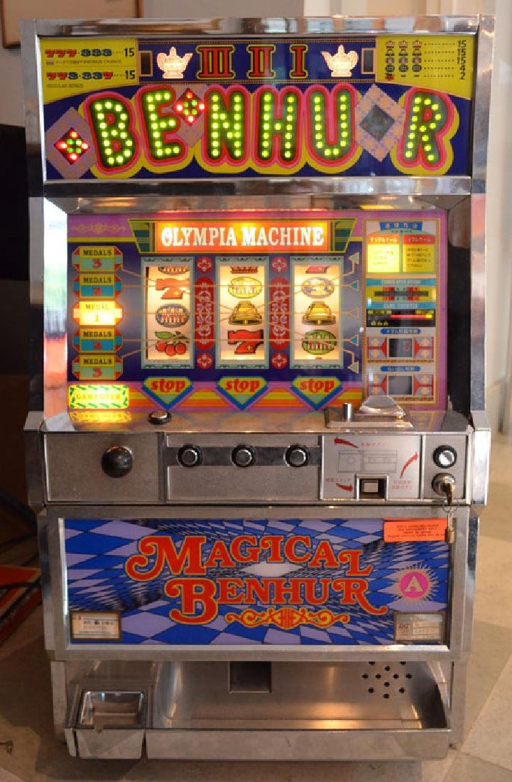 Magical Ben Hur Olympia Token Slot Machine