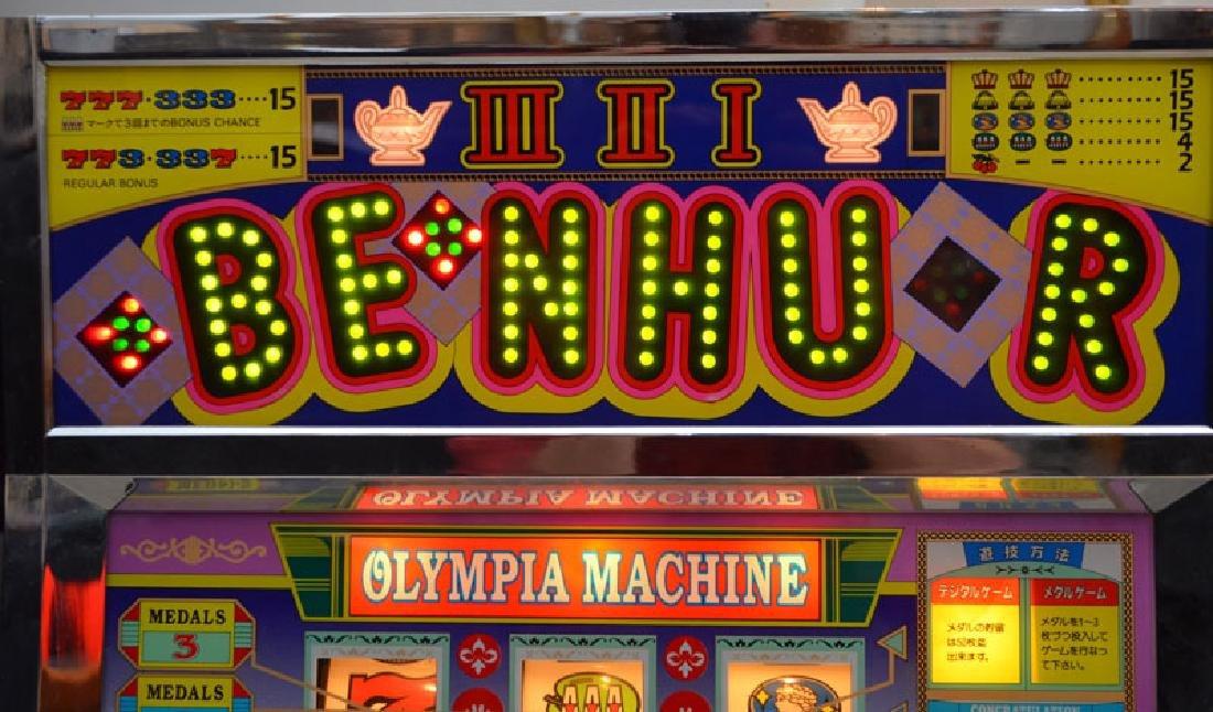 Magical Ben Hur Olympia Token Slot Machine - 2