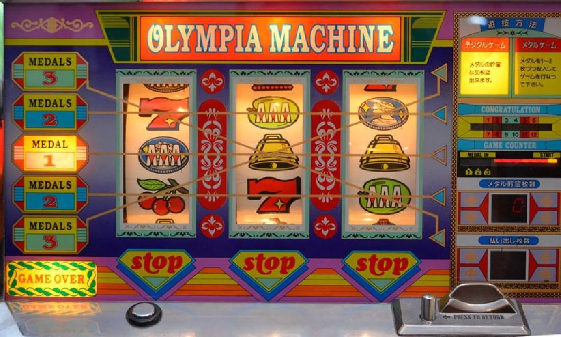 Magical Ben Hur Olympia Token Slot Machine - 3