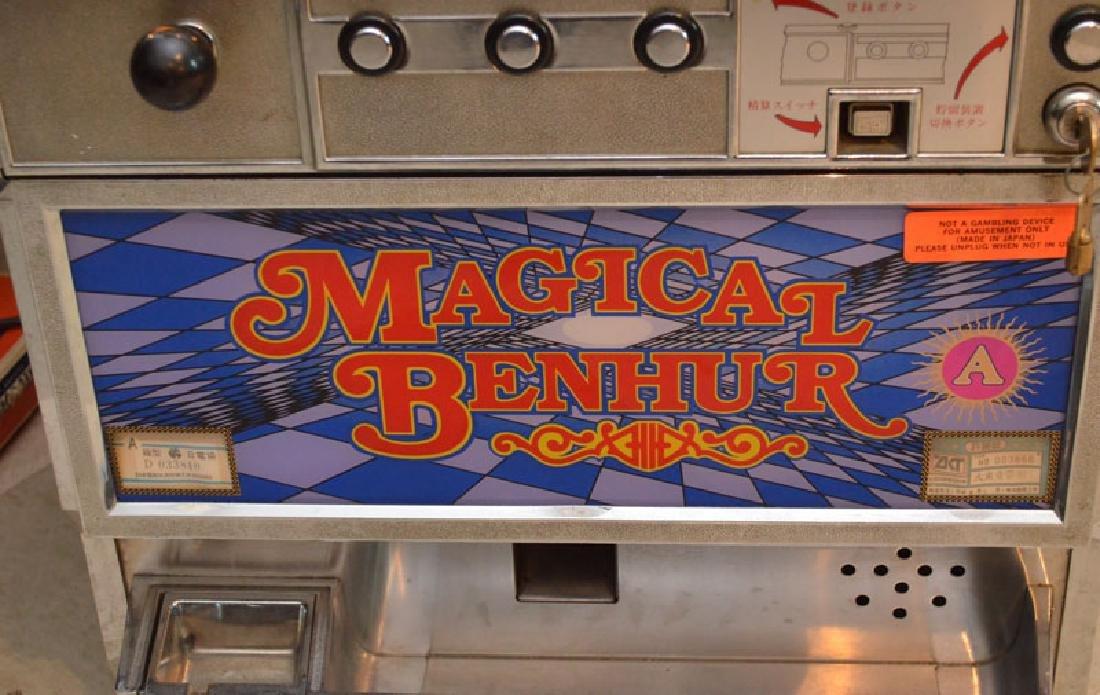 Magical Ben Hur Olympia Token Slot Machine - 4