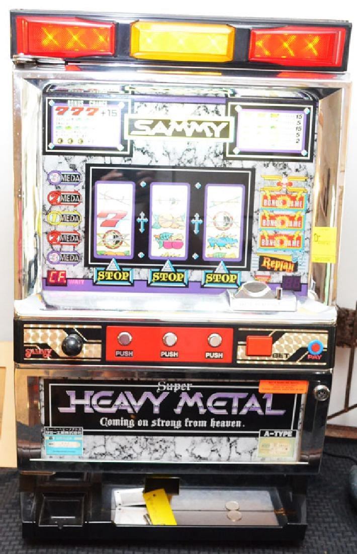 Sammy Heavy Metal Token Slot Machine