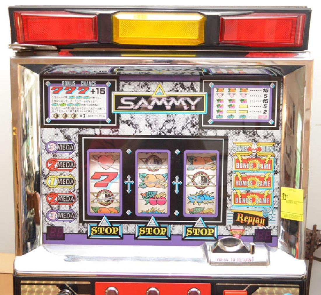 Sammy Heavy Metal Token Slot Machine - 2
