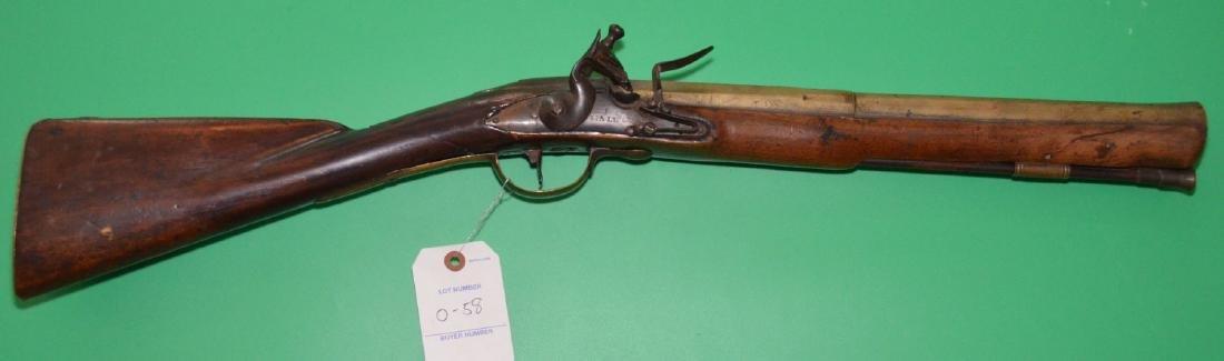 1745 John Hall British Blunderbuss or Coach Gun