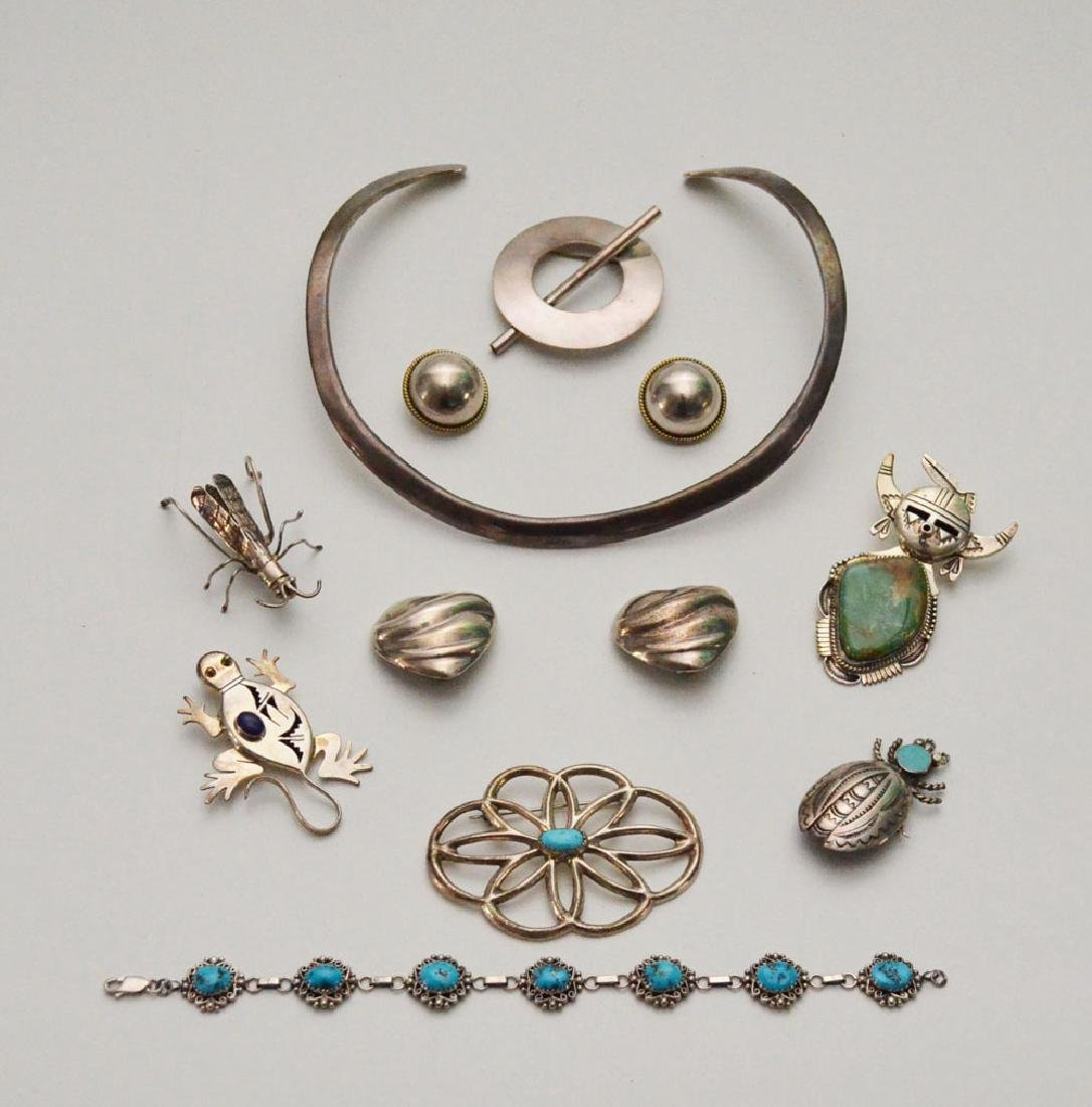 Sterling Silver Native American Jewelry (Pins,