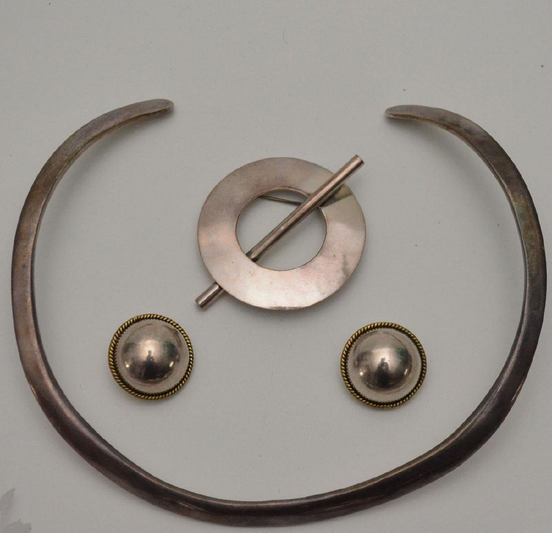 Sterling Silver Native American Jewelry (Pins, - 2