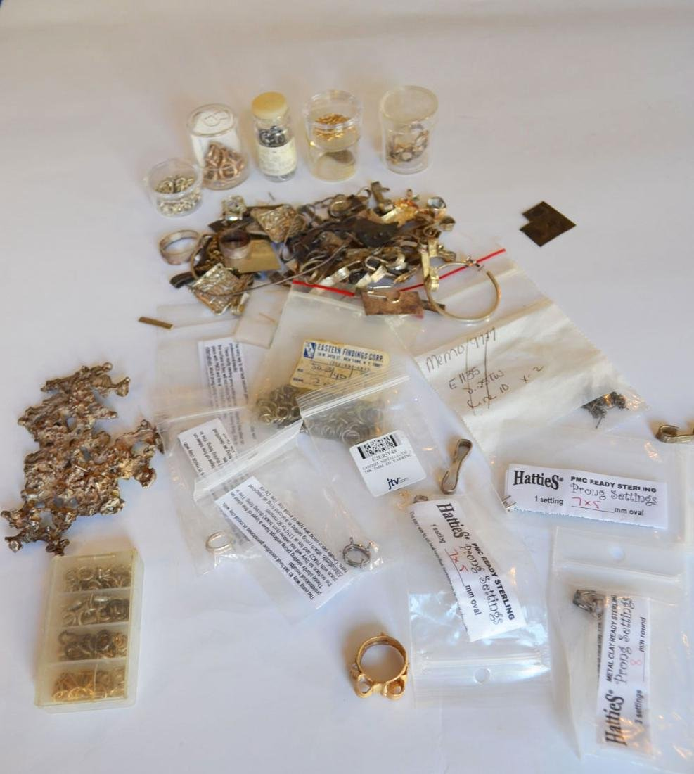 Sterling  & Gold Jewelry Making  Parts & Supplies