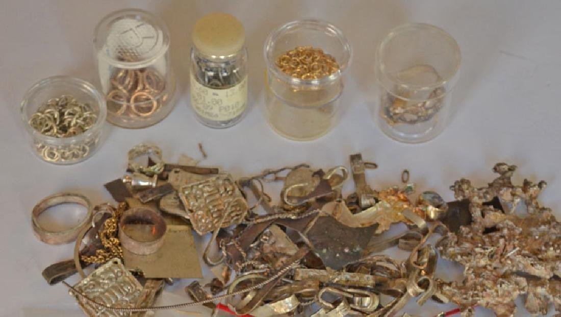 Sterling  & Gold Jewelry Making  Parts & Supplies - 4