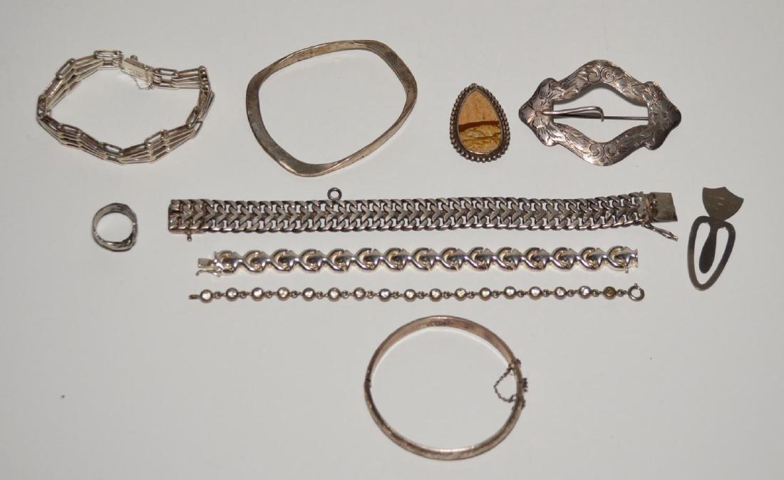 Heavy Sterling Silver Jewelry (Bracelets, Ring)
