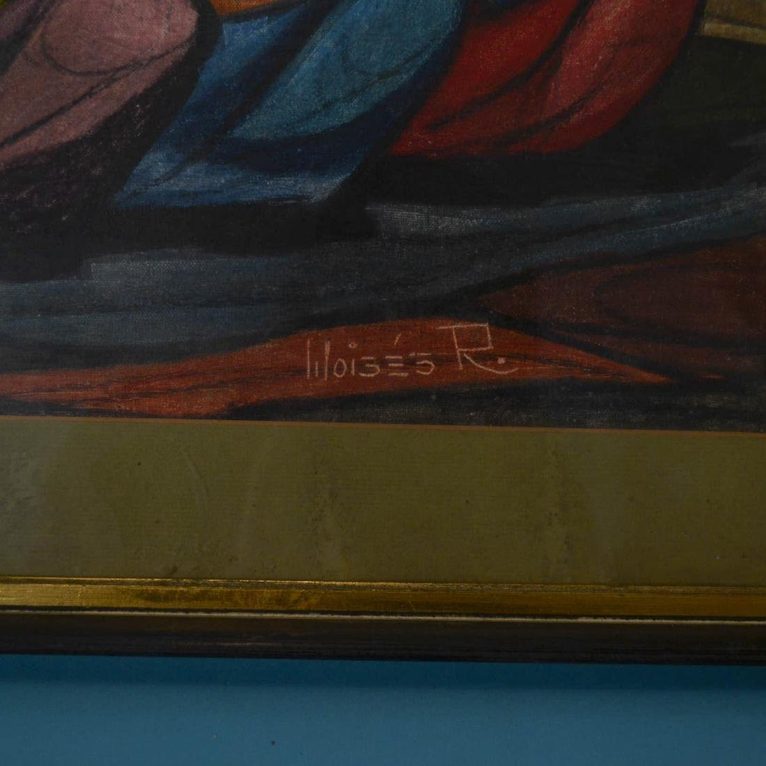 Raphael Moises Mexican Painting - 2