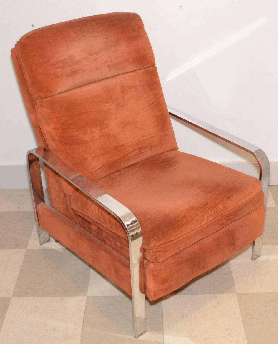 Milo Baughman Mid-Century Modern Recliner Chair