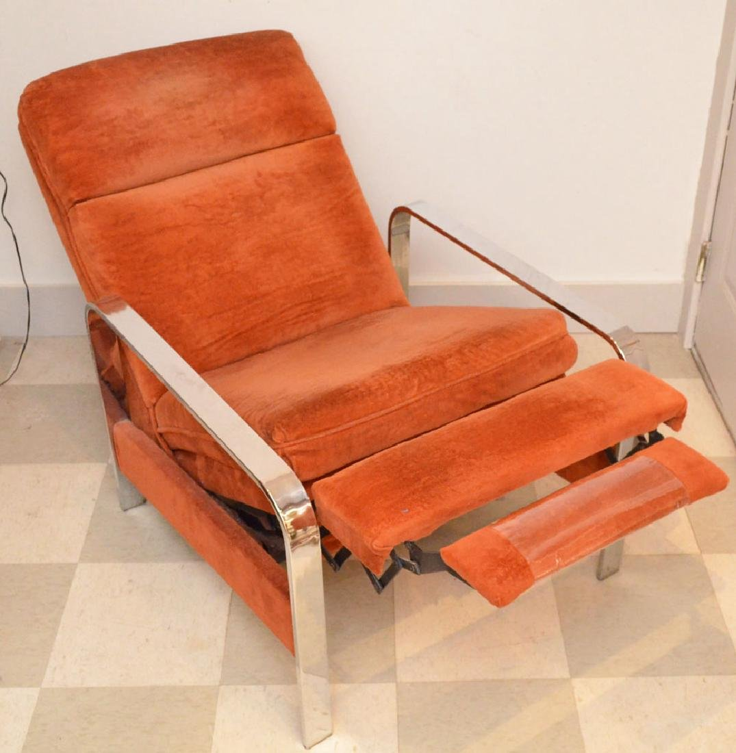 Milo Baughman Mid-Century Modern Recliner Chair - 2