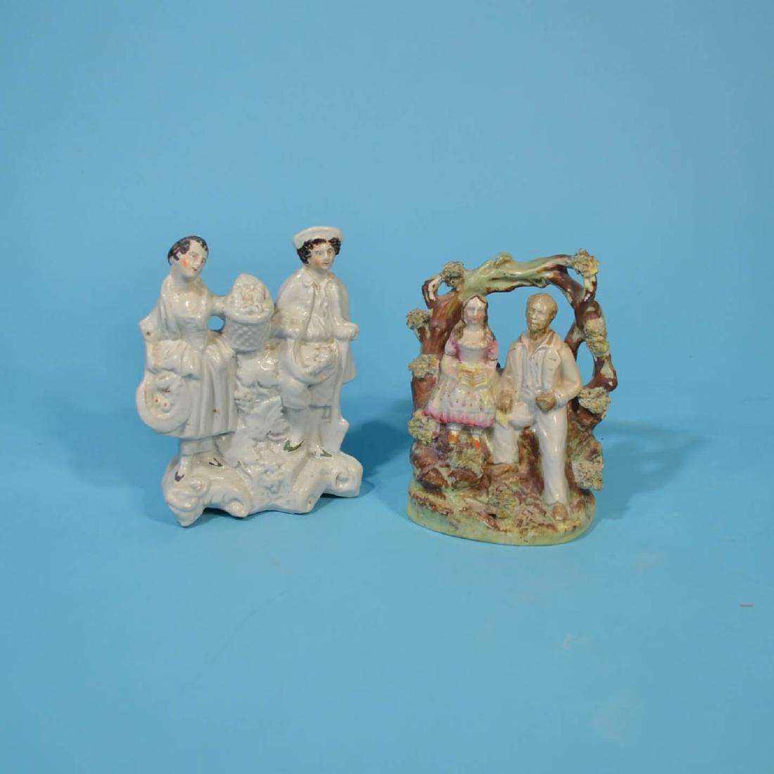 6 Staffordshire Porcelain Figures - 2