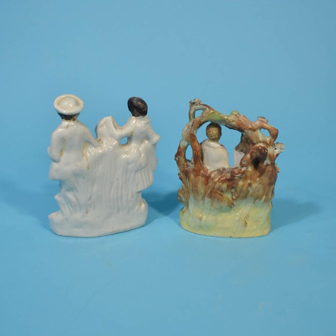 6 Staffordshire Porcelain Figures - 3