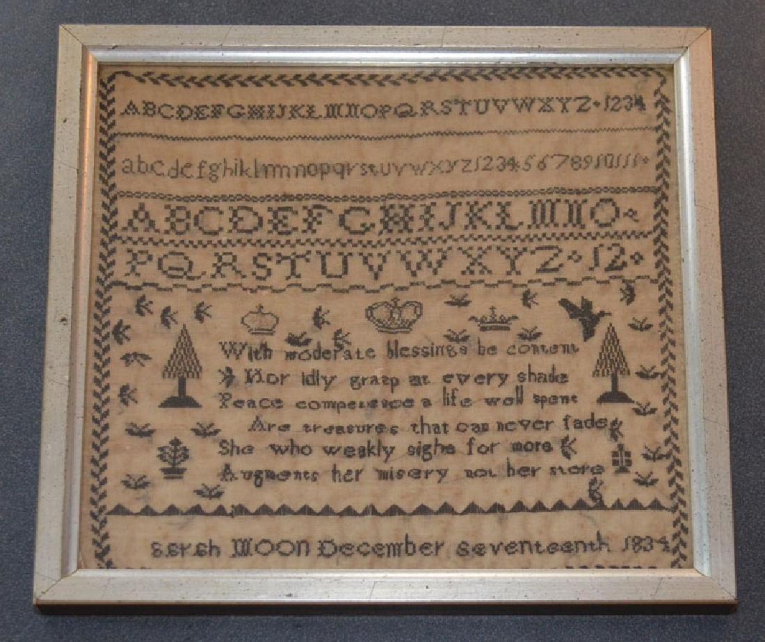 December 17th 1834 Sampler