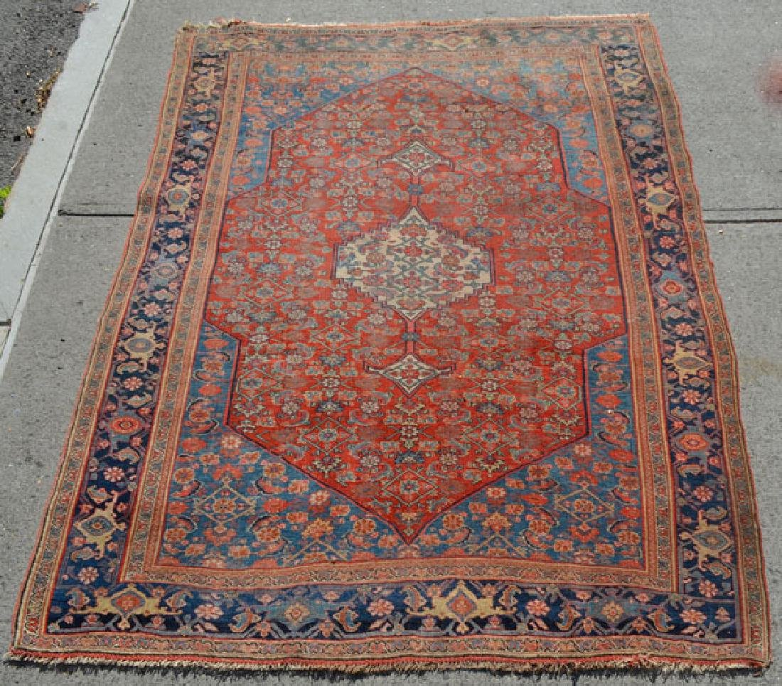 Nice Vintage Hand Made Oriental Carpet /Rug