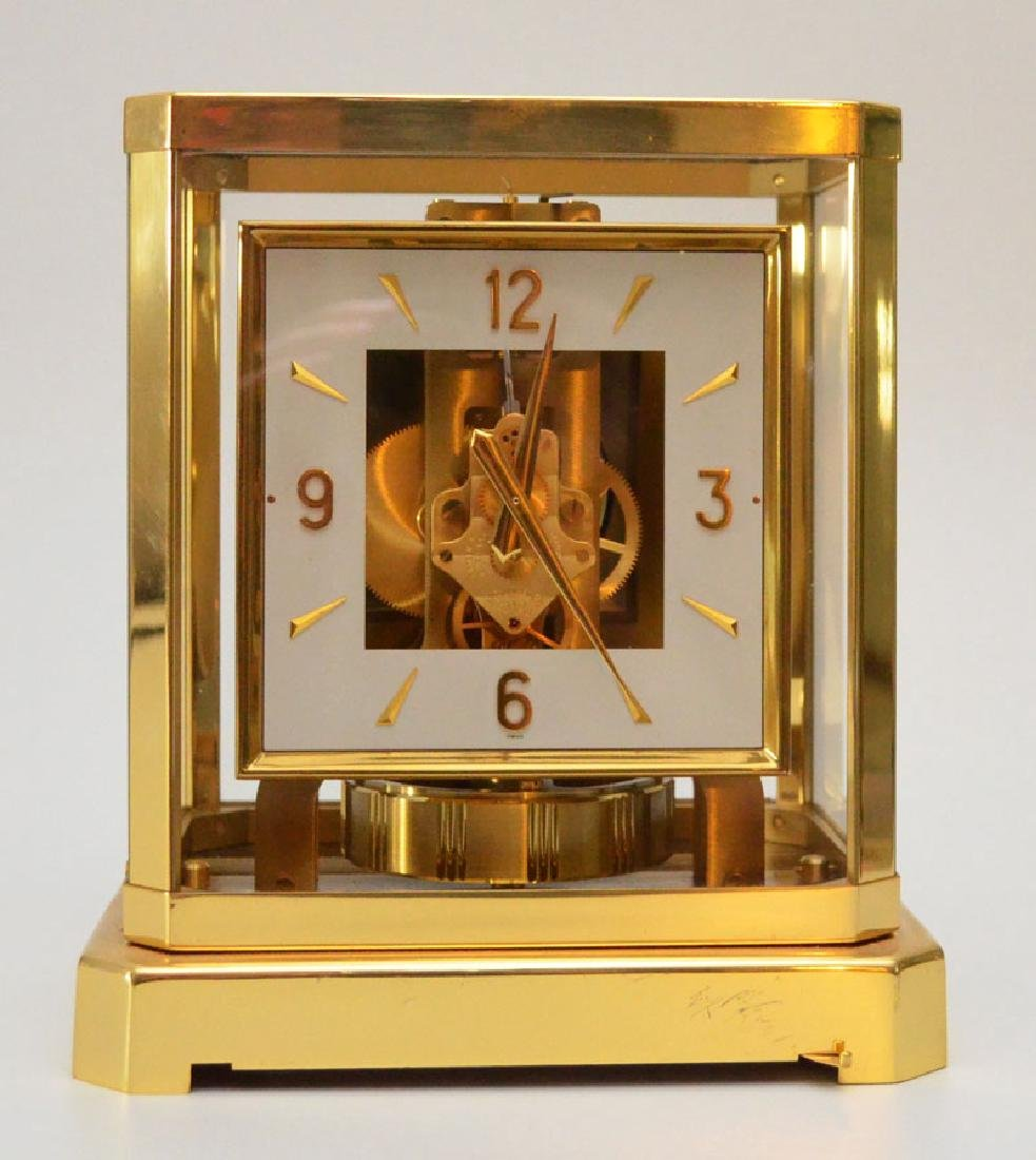 Stunning Vintage Atmos Square Face Clock