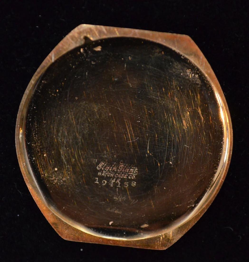 Waltham 14k Gold Pocket Watch (Elgin Giant Case) - 4
