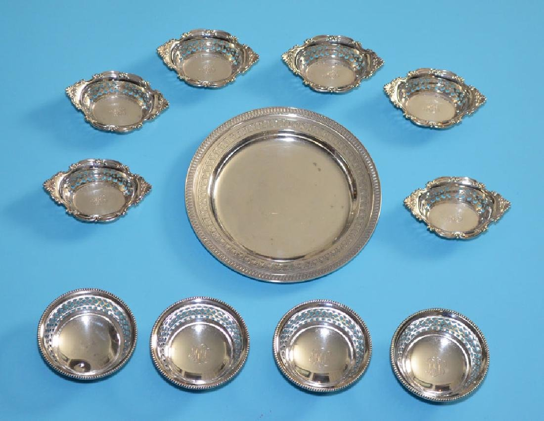 Sterling Silver Lot  (Tiffany Sterling Plate)