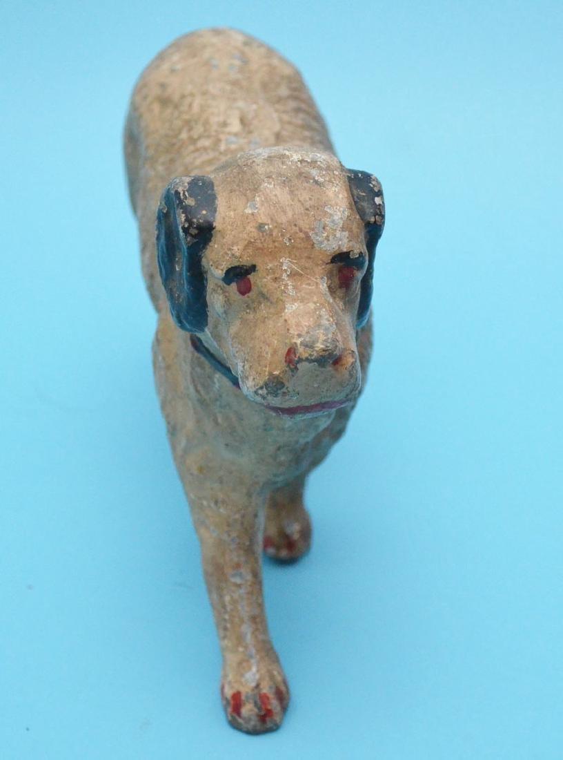 Vintage Painted Full Body Dog Doorstop - 2