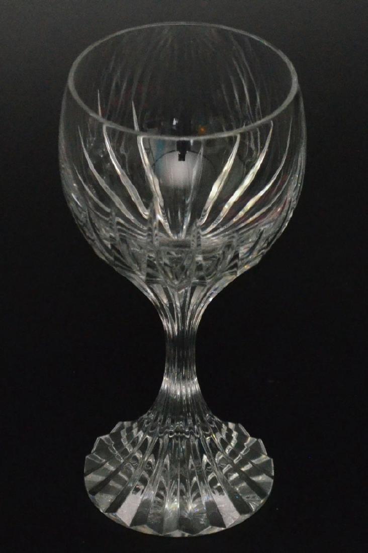 Set of 8 Baccarat Massena Water Goblet Glasses - 2