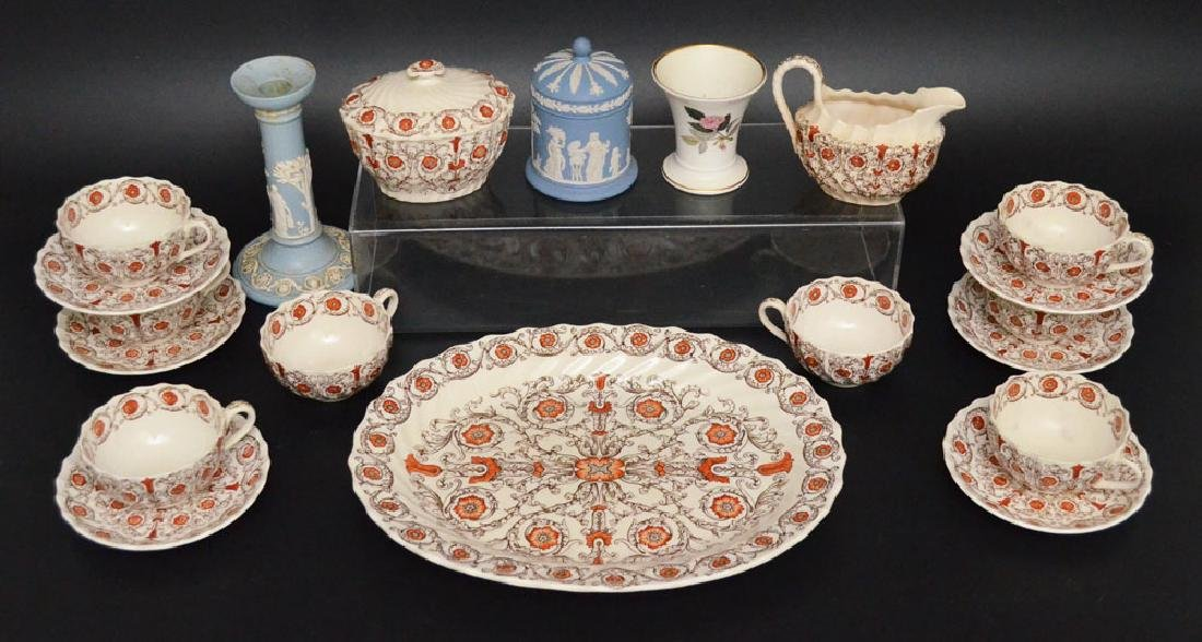 Lot Of Misc Vintage China ( Wedgwood, Spode )