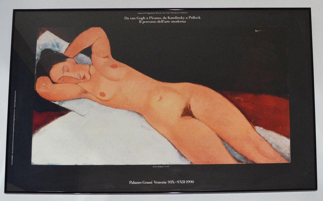 Modigliani Framed Poster