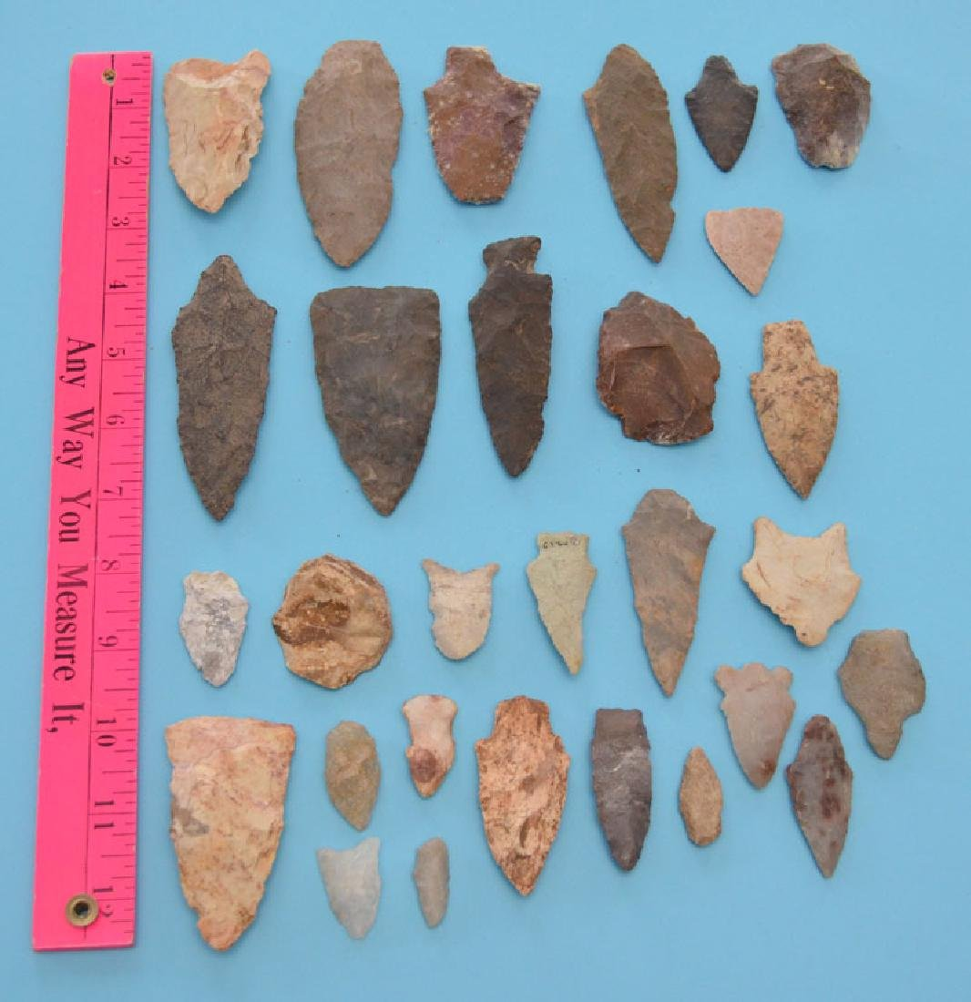 Interesting Ancient Native American Arrowheads