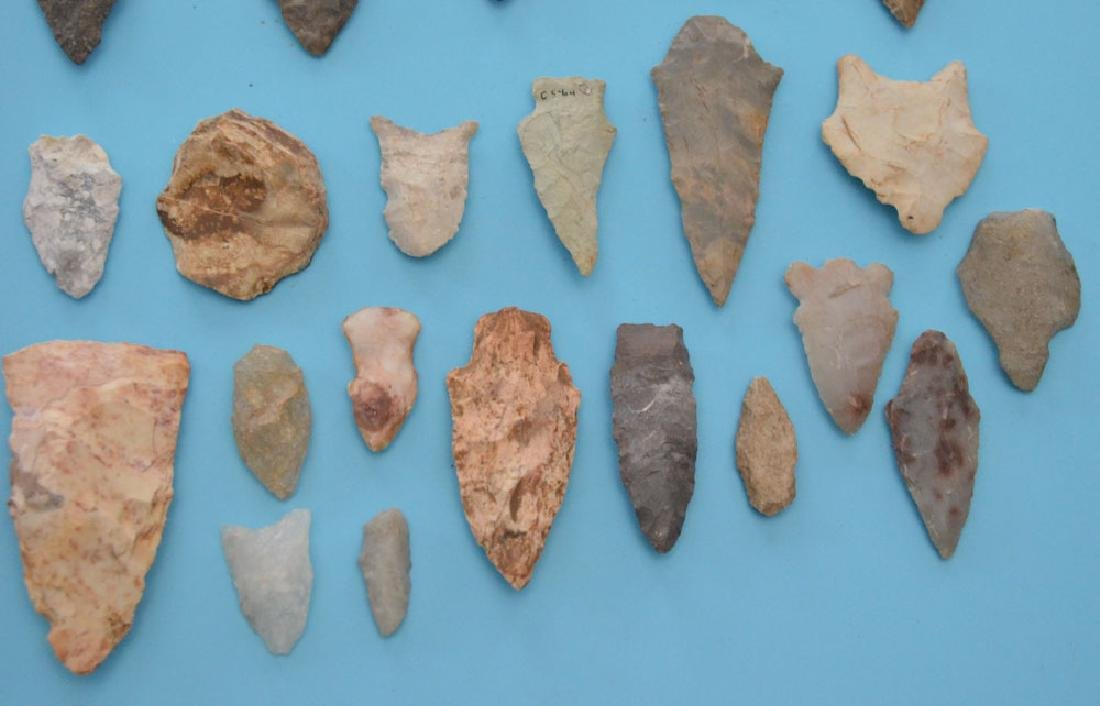 Interesting Ancient Native American Arrowheads - 3