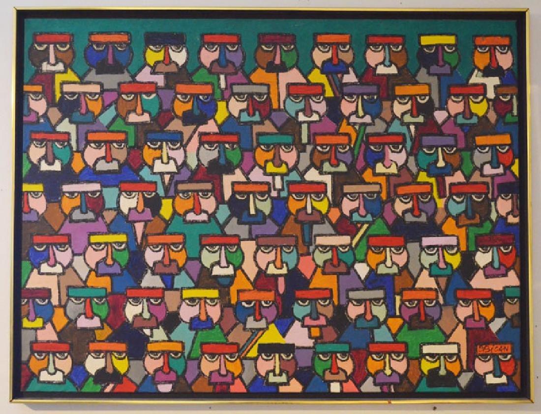 Large Jovan Obican Painting