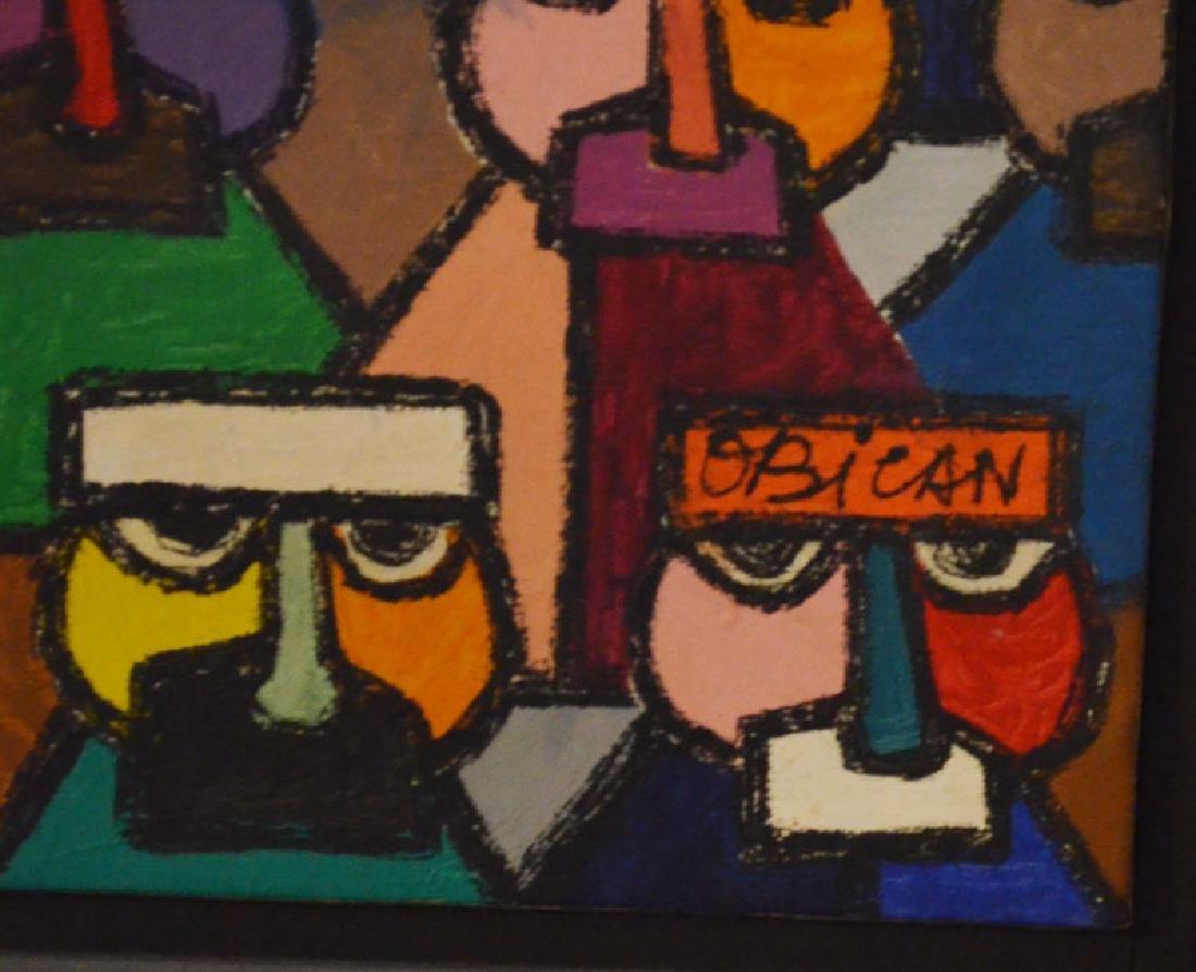 Large Jovan Obican Painting - 2