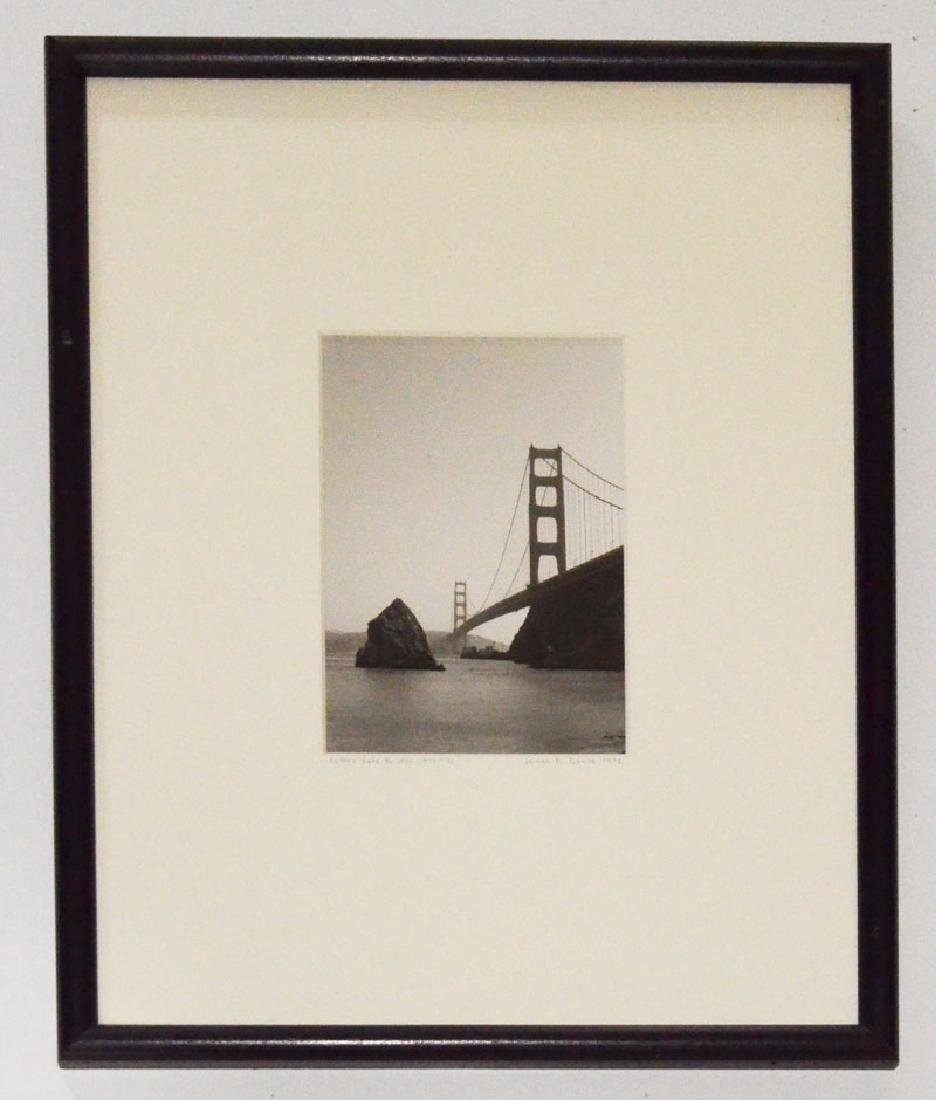 Signed James Danis Golden Gate Bridge Photograph