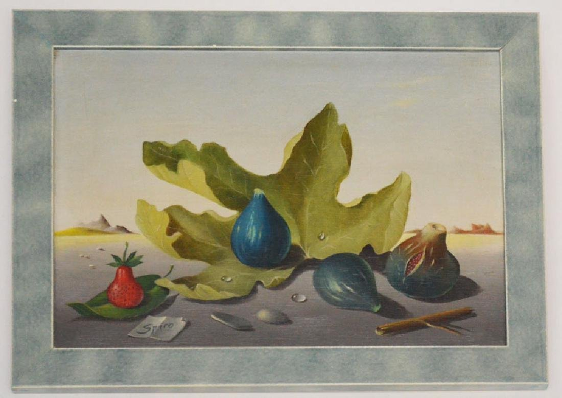 Georges Spiro Les Figues Oil Painting