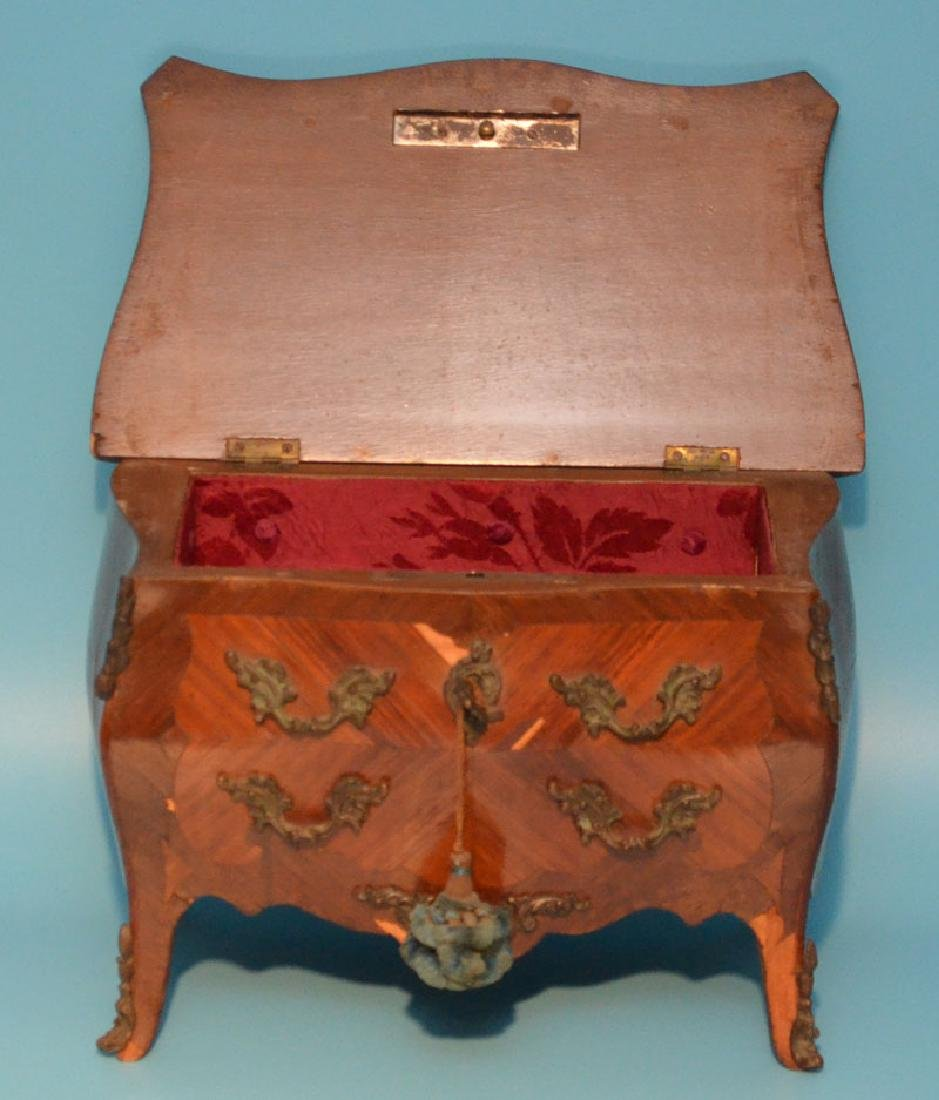 French Louis XV Salesman Sample Chest - 6
