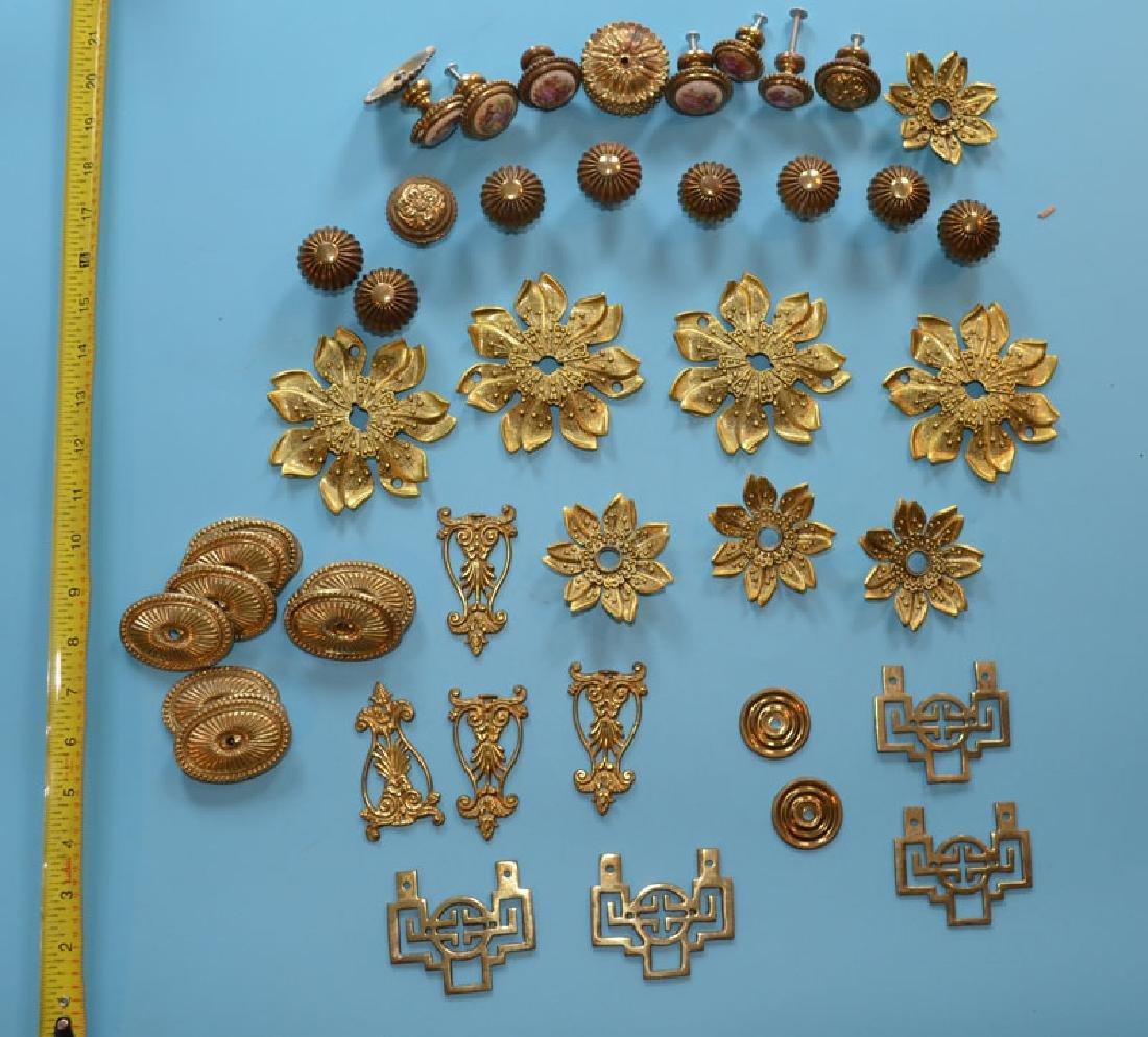 Vintage Brass Doorknobs & Decorative Hardware