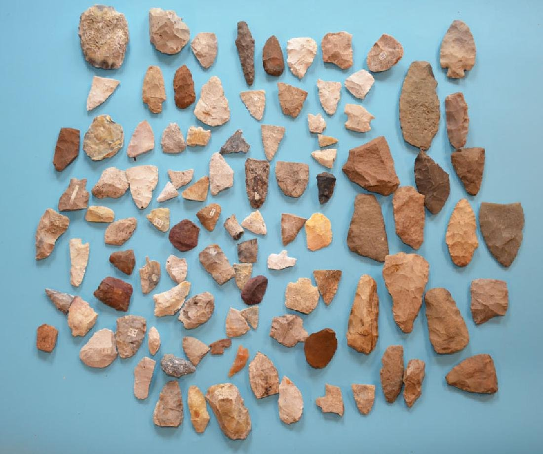 Native American Arrowheads , Scrapers & Blanks (FL, TN)