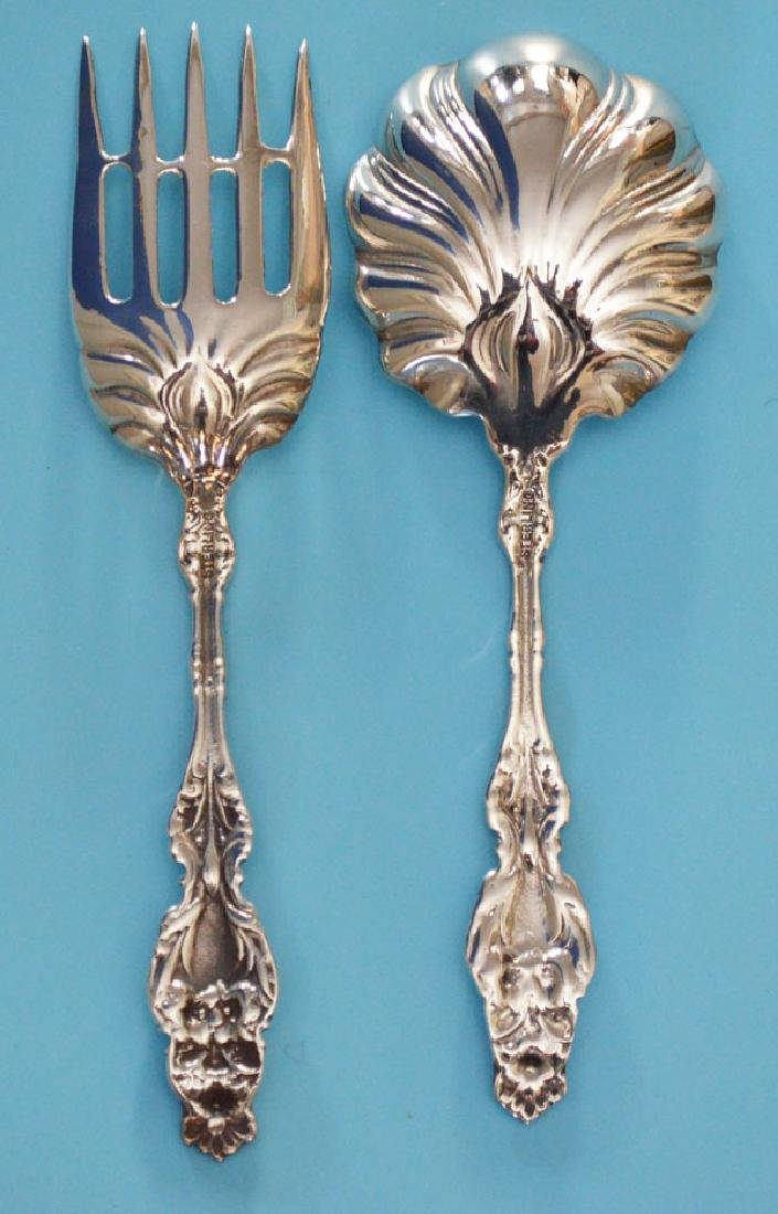 Sterling Silver Lily Serving Pieces - 2