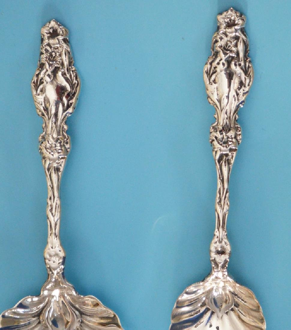 Sterling Silver Lily Serving Pieces - 3