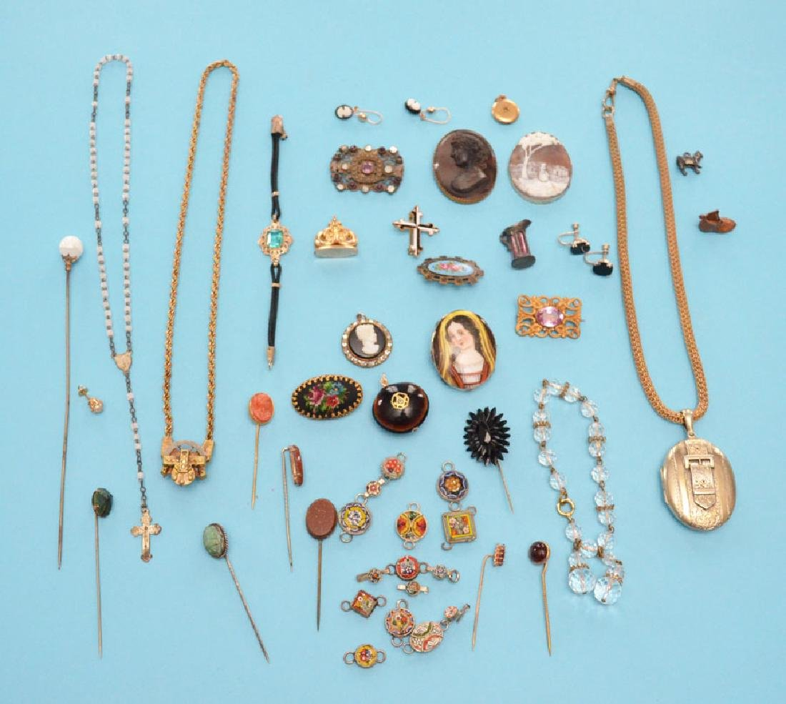 Lot of Victorian Jewelry